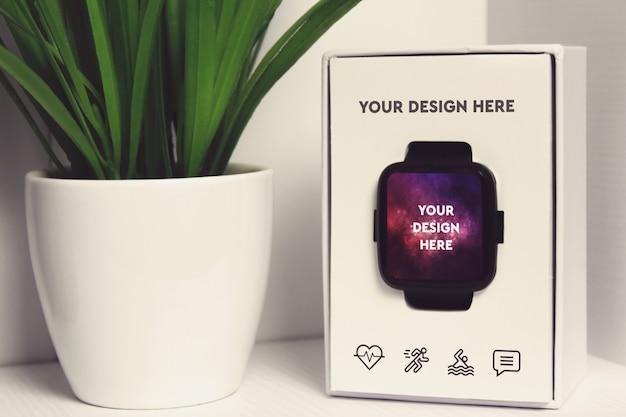 Maquette d'affichage smartwatch