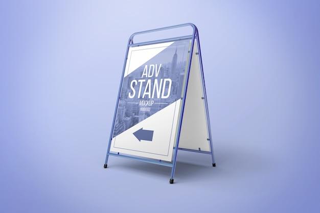 Maquette d'affiche créative