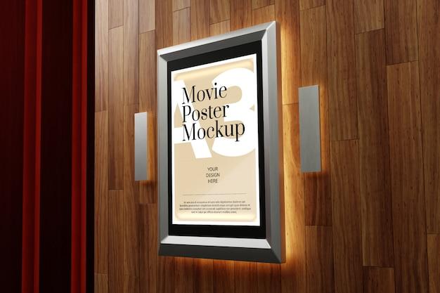 Maquette d'affiche de film