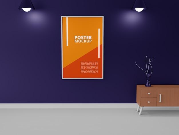 Maquette d'affiche de flyer moderne