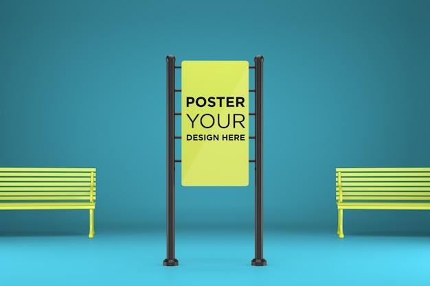 Maquette d'affiches
