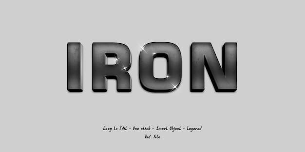 Maquette alphabet de police d'effet 3d avec une texture grise douce