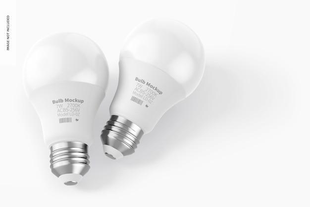 Maquette d'ampoules