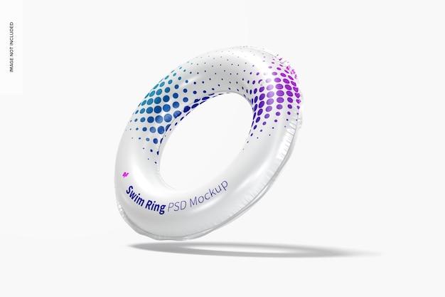Maquette d'anneau de bain