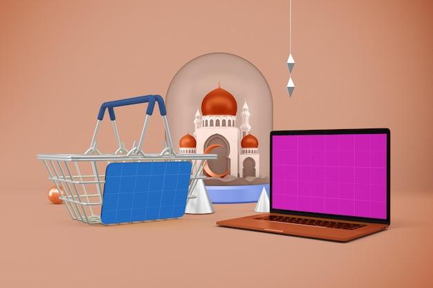 Maquette de l'application ramadan shopping