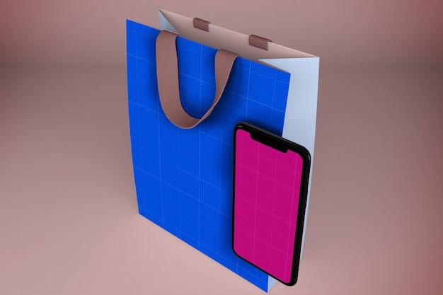 Maquette de l'application shopping