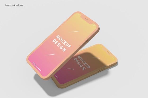 Maquette d'argile pour téléphone portable