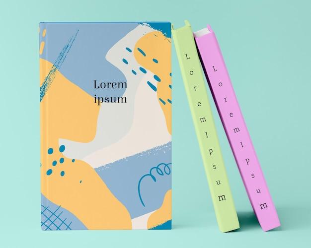 Maquette d'arrangement de livres
