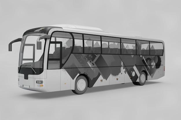 Maquette d'autobus