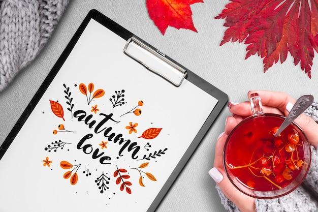 Maquette d'automne