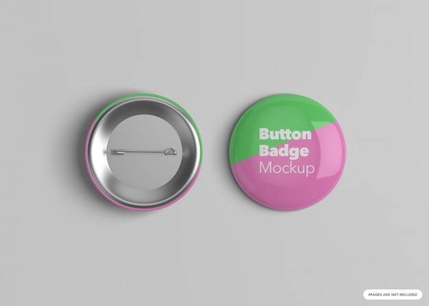 Maquette badge bouton