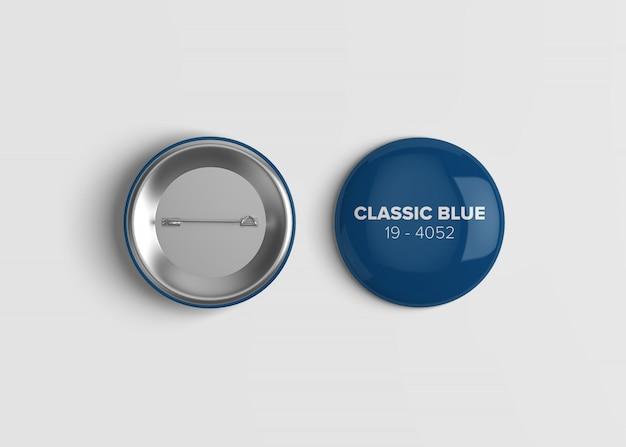 Maquette badge bouton
