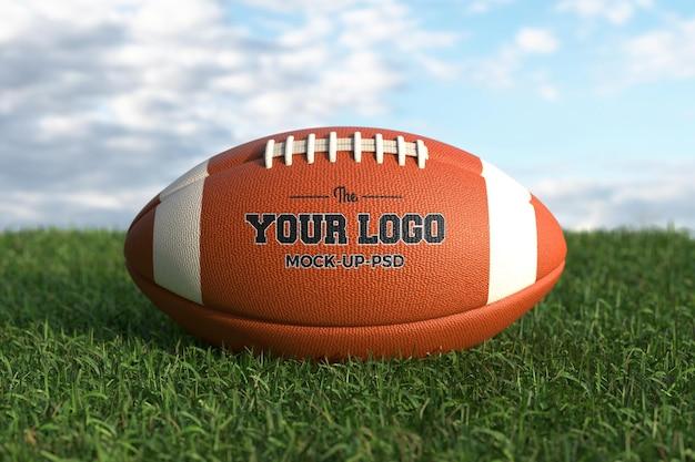 Maquette de ballon de football américain