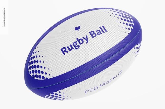 Maquette de ballon de rugby