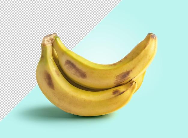 Maquette de banane avec arrière-plan modifiable
