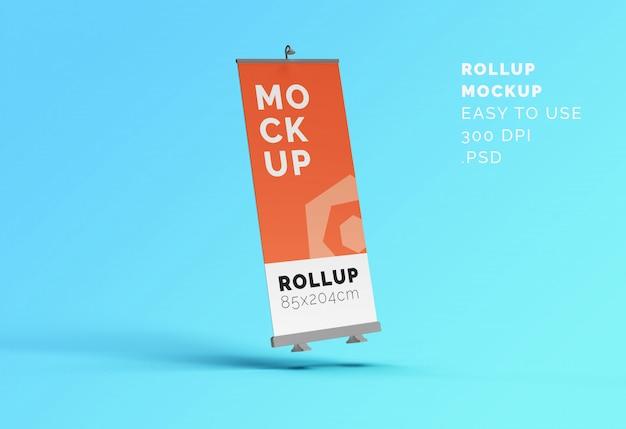 Maquette de bannière roll-up