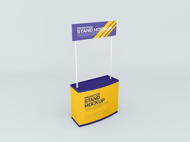 Maquette de bannière de stand d'événement promotionnel