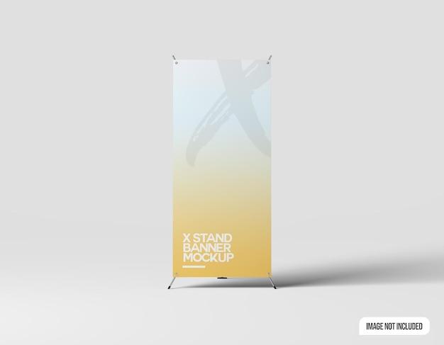 Maquette de bannière de stand x