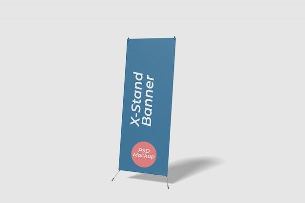 Maquette de bannière x-stand