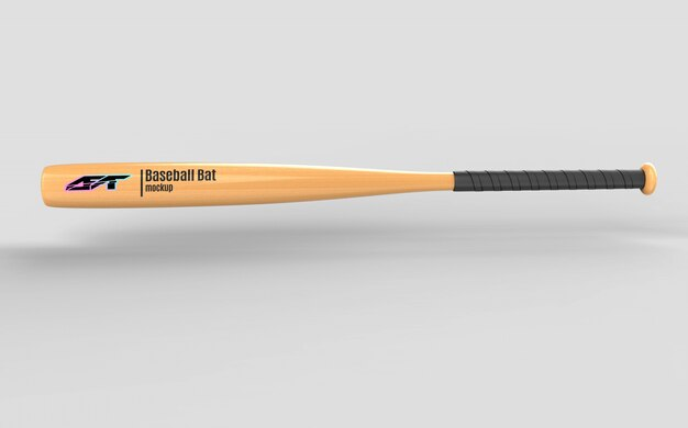 Maquette de batte de baseball