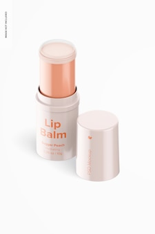 Maquette de baume à lèvres isométrique 0,35 oz