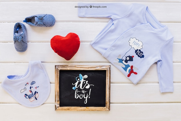 Maquette de bébé
