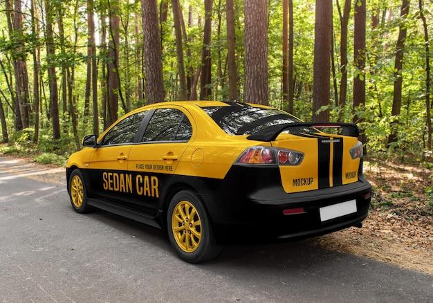 Maquette de berline de voiture