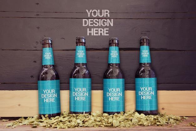Maquette de bière en ardoise 4 en 1