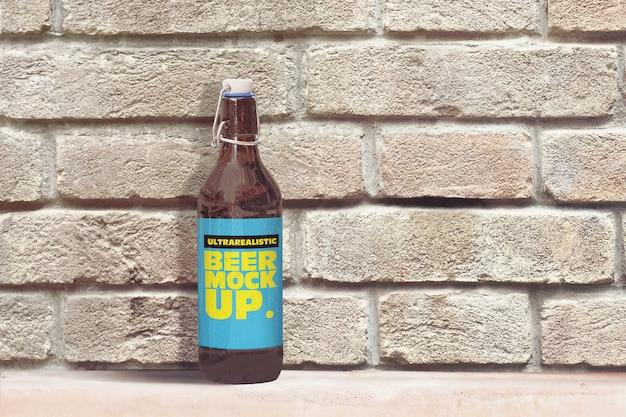 Maquette de bière en brique 50cl 2