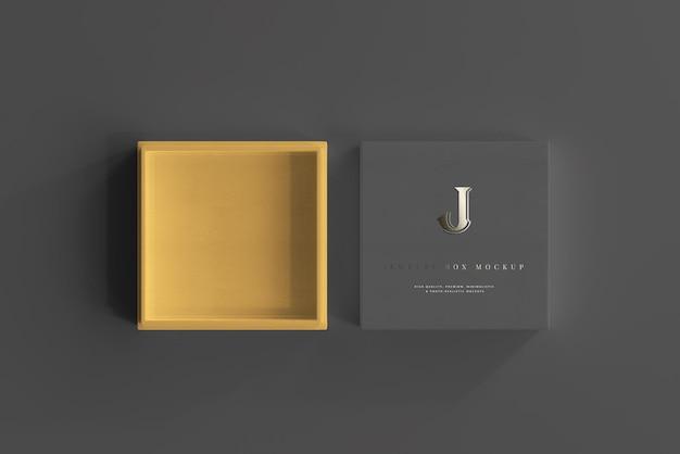 Maquette de bijoux ou de boîte-cadeau