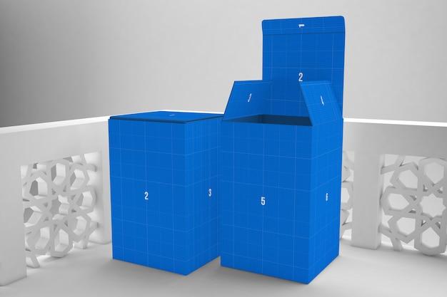 Maquette de boîte arabe