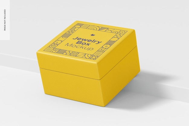 Maquette de boîte à bijoux, perspective