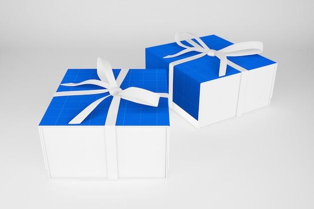 Maquette de boîte-cadeau propre