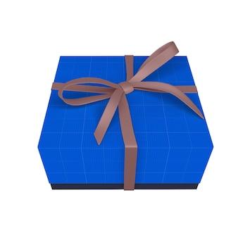 Maquette de boîte cadeau