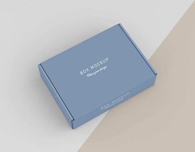 Maquette De Boîte En Carton PSD Premium