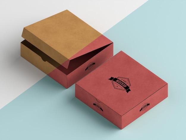 Maquette de boîte d'emballage