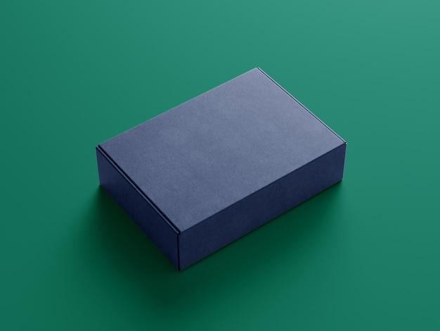 Maquette de boîte de logiciel de perspective