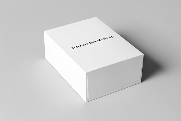 Maquette de boîte à logiciel
