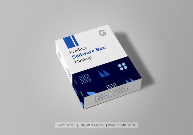 Maquette de boîte de logiciel