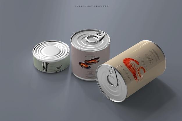 Maquette de boîte de nourriture