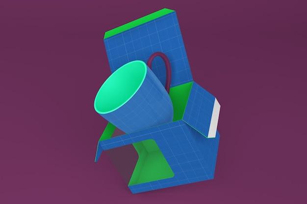 Maquette de la boîte à tasses v1