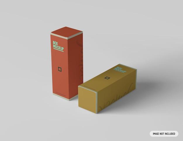 Maquette de boîte