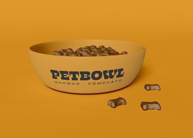 Maquette de bol pour chien