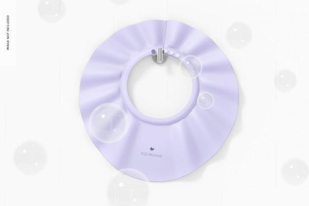 Maquette de bonnet de douche de bébé, à suspendre