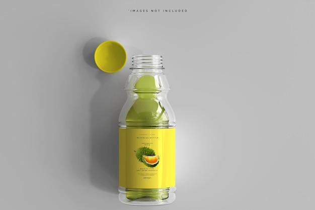 Maquette de bouteille de boisson