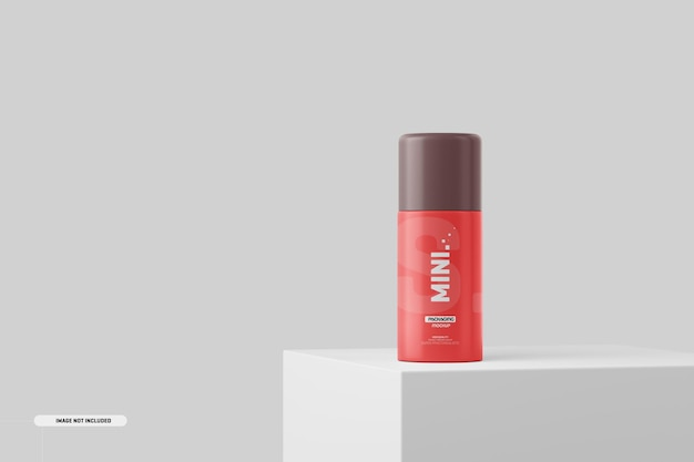 Maquette de bouteille de cosmétiques
