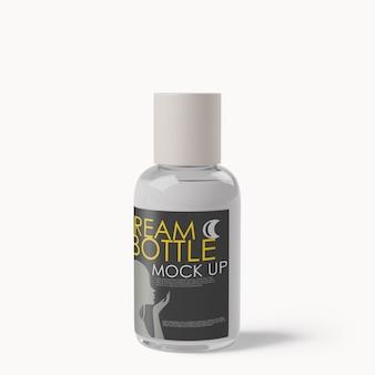 Maquette de bouteille de distributeur de cosmétiques