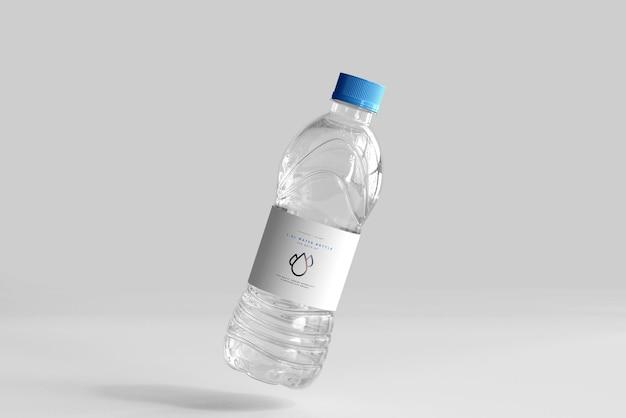 Maquette de bouteille d'eau douce de 1,0 l