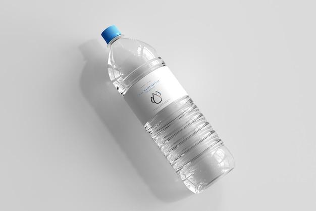Maquette de bouteille d'eau douce