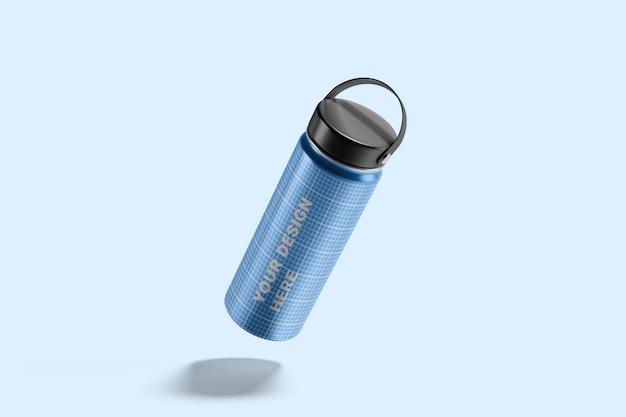 Maquette de bouteille d'eau hydro flask